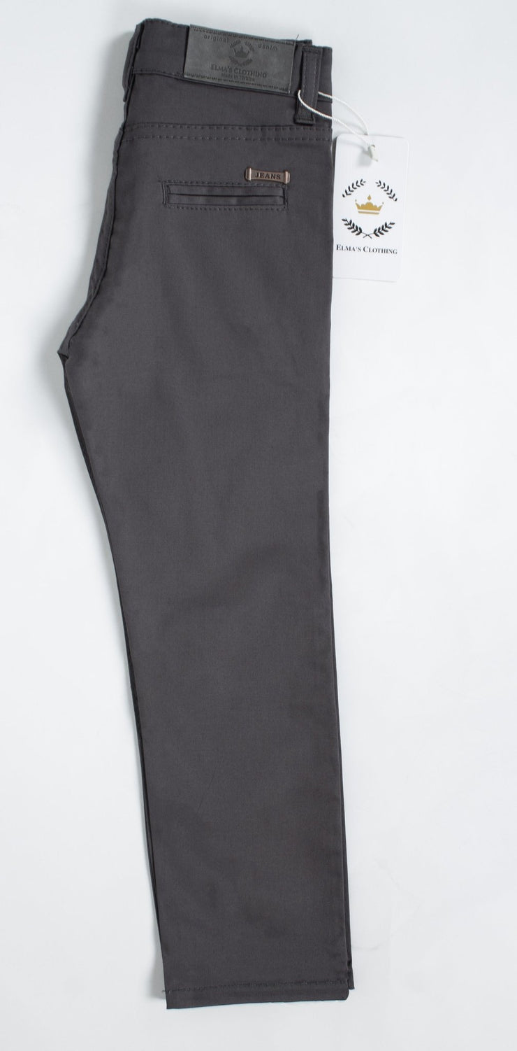 Boy's Pants Dark Gray - Elma's Clothing