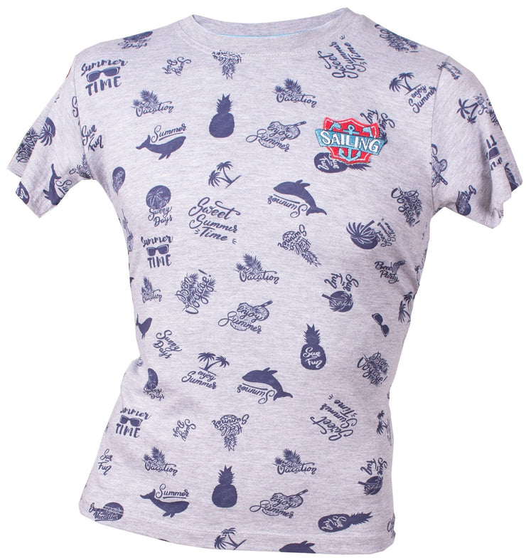Boys Sailing T-shirts - Elma's Clothing