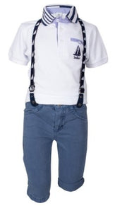 Boy's Sailor Set - Elma's Clothing