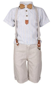 Boys' Summer Bow Tie Set - Elma's Clothing