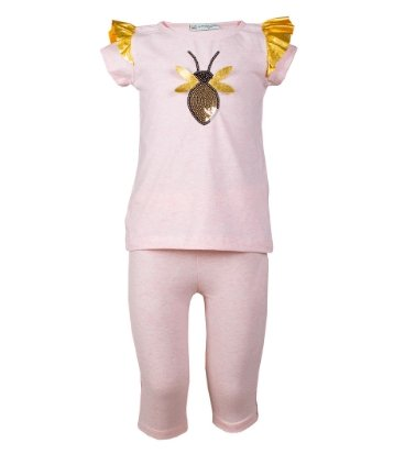 Casual Kids Bumble Bee T-shirt&Pants Set - Elma's Clothing