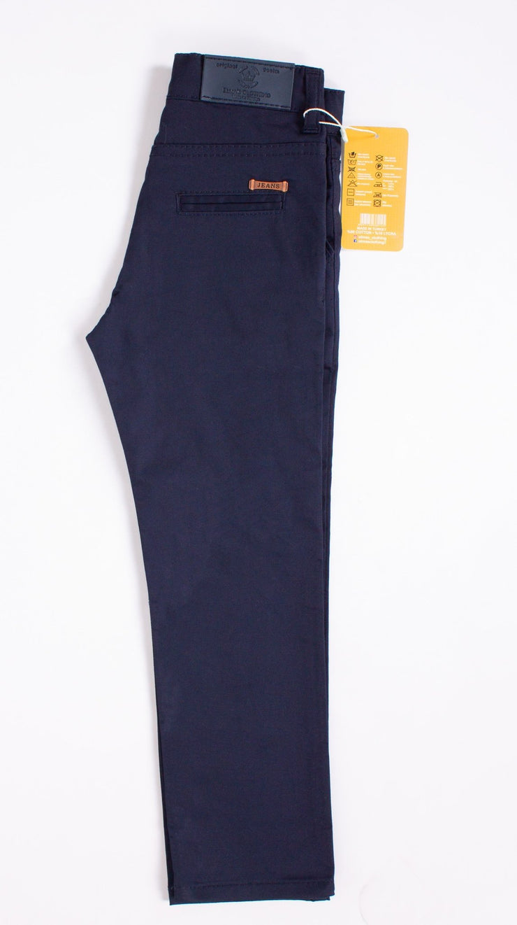 Dark Navy Blue Pants - Elma's Clothing