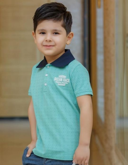 Elma's Clothing Boys Green Polo Shirt - Elma's Clothing