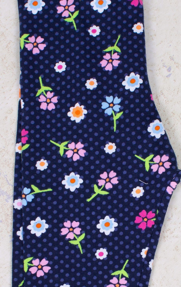 Floral Leggings - Elma's Clothing
