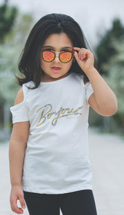 Girls' Bonjour Top - Elma's Clothing
