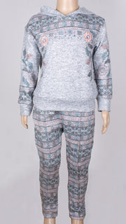Girls' Hooded Top and Pants - Elma's Clothing