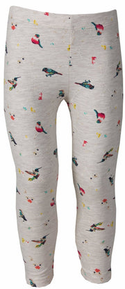 Girls Hummingbird Leggings - Elma's Clothing