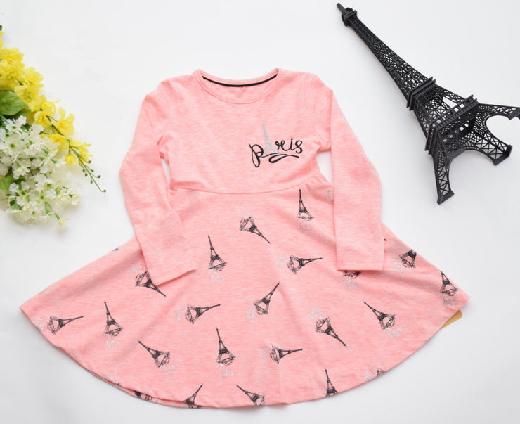 Girls' Little Paris Dress - Elma's Clothing