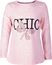 Girls' Long Sleeve Dragonfly T-shirt - Elma's Clothing