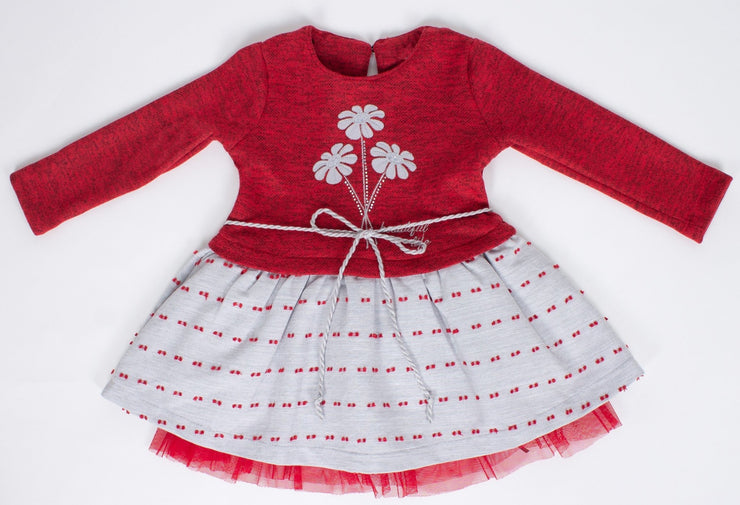 Girls' Long Sleeve Dress - Elma's Clothing