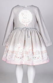 Girls Long Sleeve Dress - Elma's Clothing