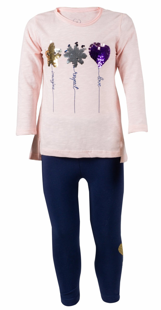 Girls Long Sleeve Star Outfit - Elma's Clothing