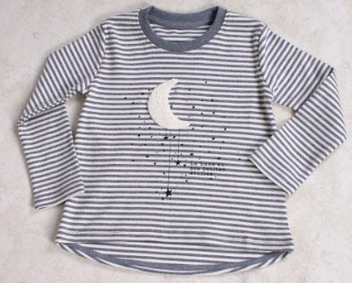 Girls' Moon T-shirt - Elma's Clothing