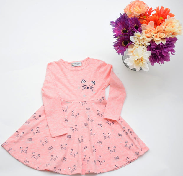Girls' Pink Dress - Elma's Clothing