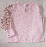 Girls' Pink Top - Elma's Clothing
