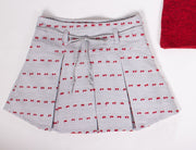 Girls' Red Top & Skirt Set - Elma's Clothing