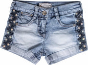Girls Shorts with Crystals - Elma's Clothing