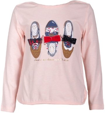 Girls' Winter Long Sleeve T-shirt - Elma's Clothing