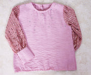 Lilac Girls' Top - Elma's Clothing