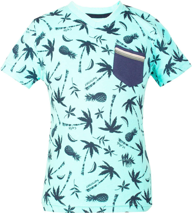 Palm Tree T-shirt - Elma's Clothing