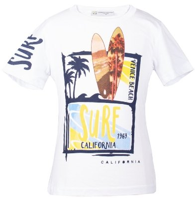 Printed Short Sleeve T-shirt - Elma's Clothing