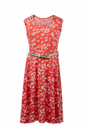 Red Butterfly Dress - Elma's Clothing