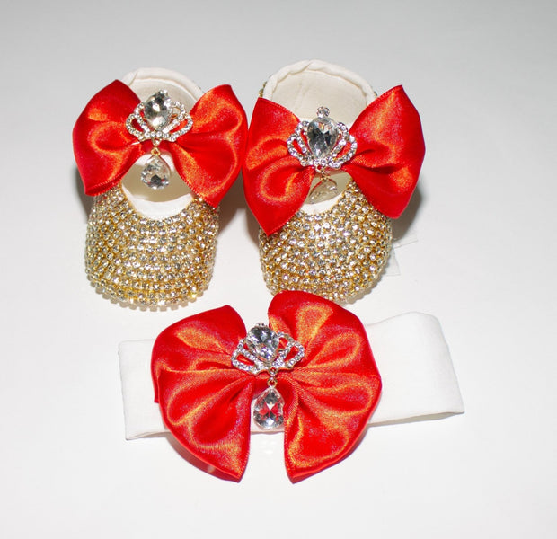 Red Crown Shoes - Elma's Clothing