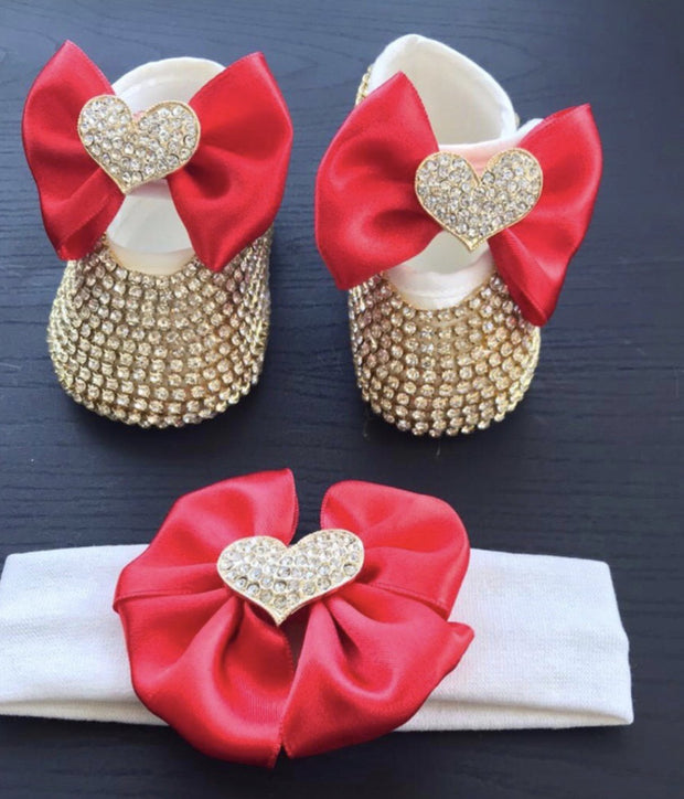 Red Heart Shoes - Elma's Clothing