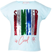 Summer is Cool T-shirt - Elma's Clothing