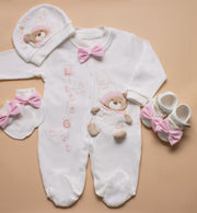 Teddy Bear 4 Piece Set - Elma's Clothing