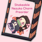 Nezuko Charm (Shake-able!)-Choctopi Arts