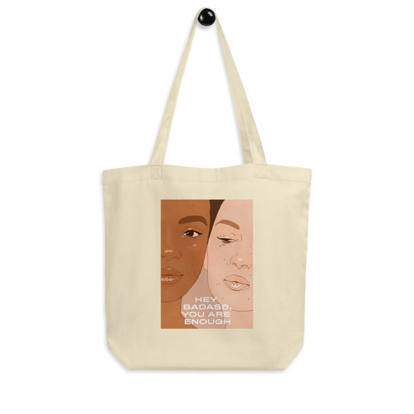 Hey Badass Tote Bag