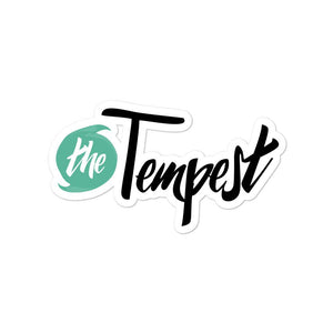 The Tempest Logo Sticker - The Tempest Shop