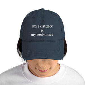 Be the Resistance Hat - Navy - The Tempest Shop