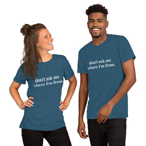 Just Don't Ask Me Tee - Dark Teal - The Tempest Shop