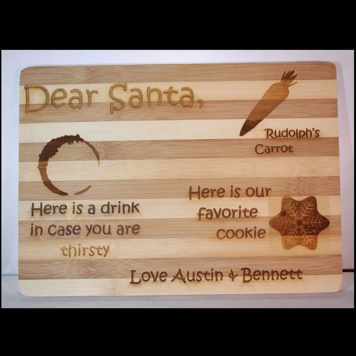 Dear Santa Cookie Board