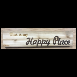 Cedar Engraved Signs - Various