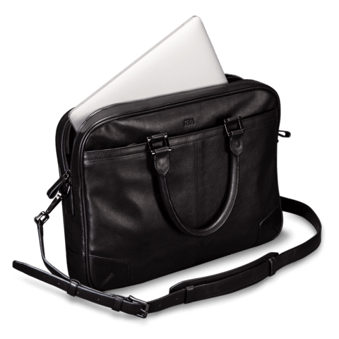 Leather Computer Briefcase For Men