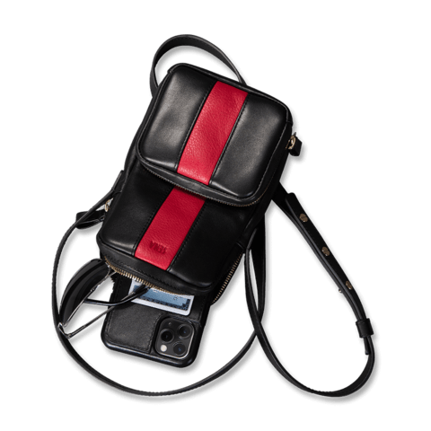 SENA Two Toned Leather Crossbody Bag For Women