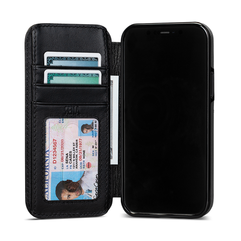 Walletbook Phone Case For iPhone 12 / iPhone 12 Pro