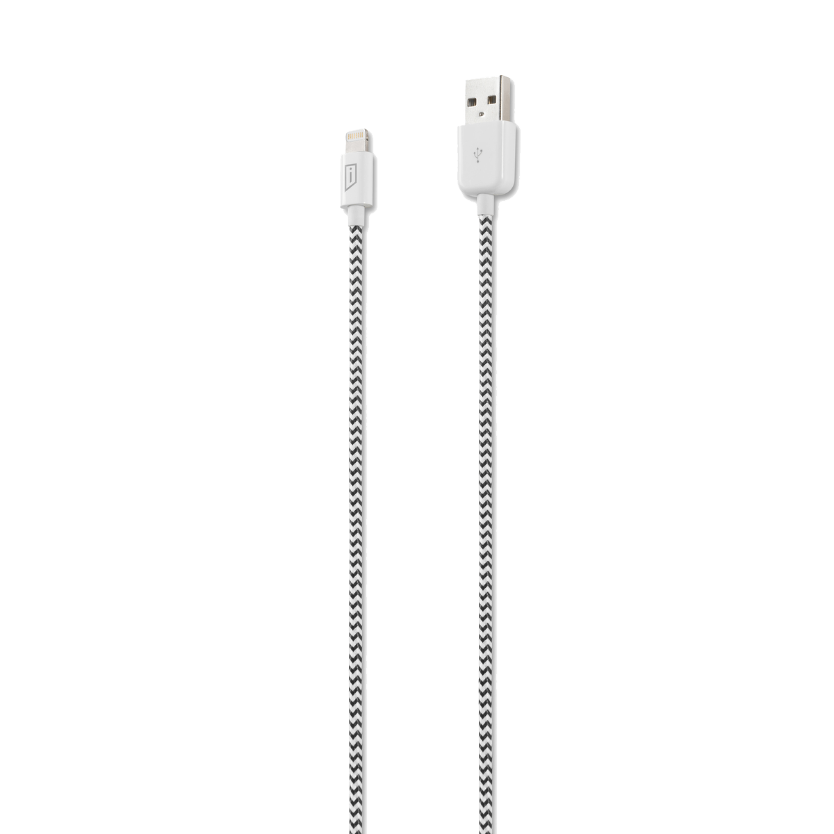 iStore Lightning Charge 4ft (1.2m) Marbled Woven Cable