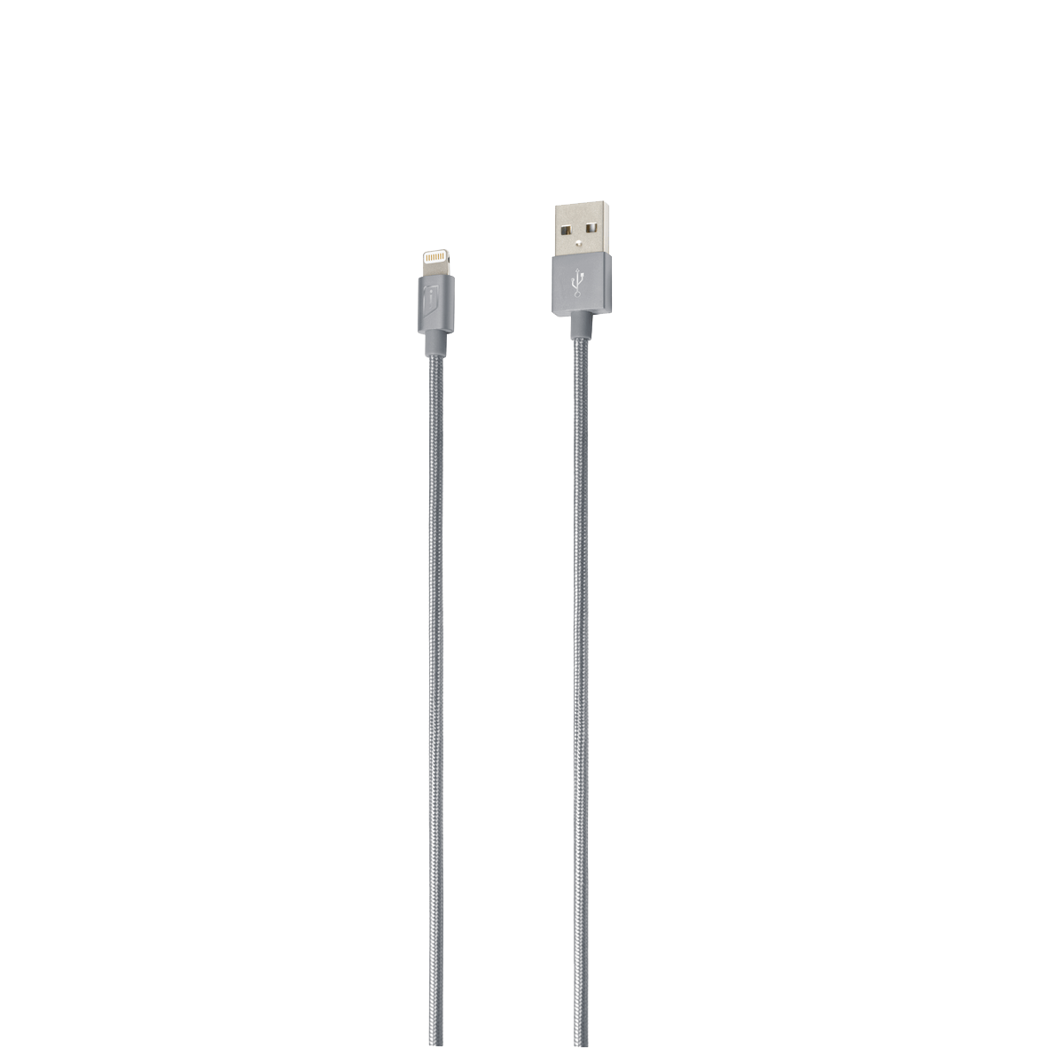 iStore Lightning Charge 4ft (1.2m) Braided Cable (Space Gray)