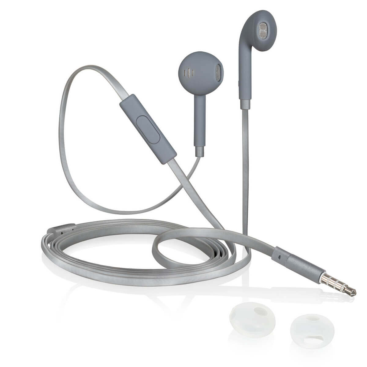 iStore Classic Fit Earbuds (Gray)