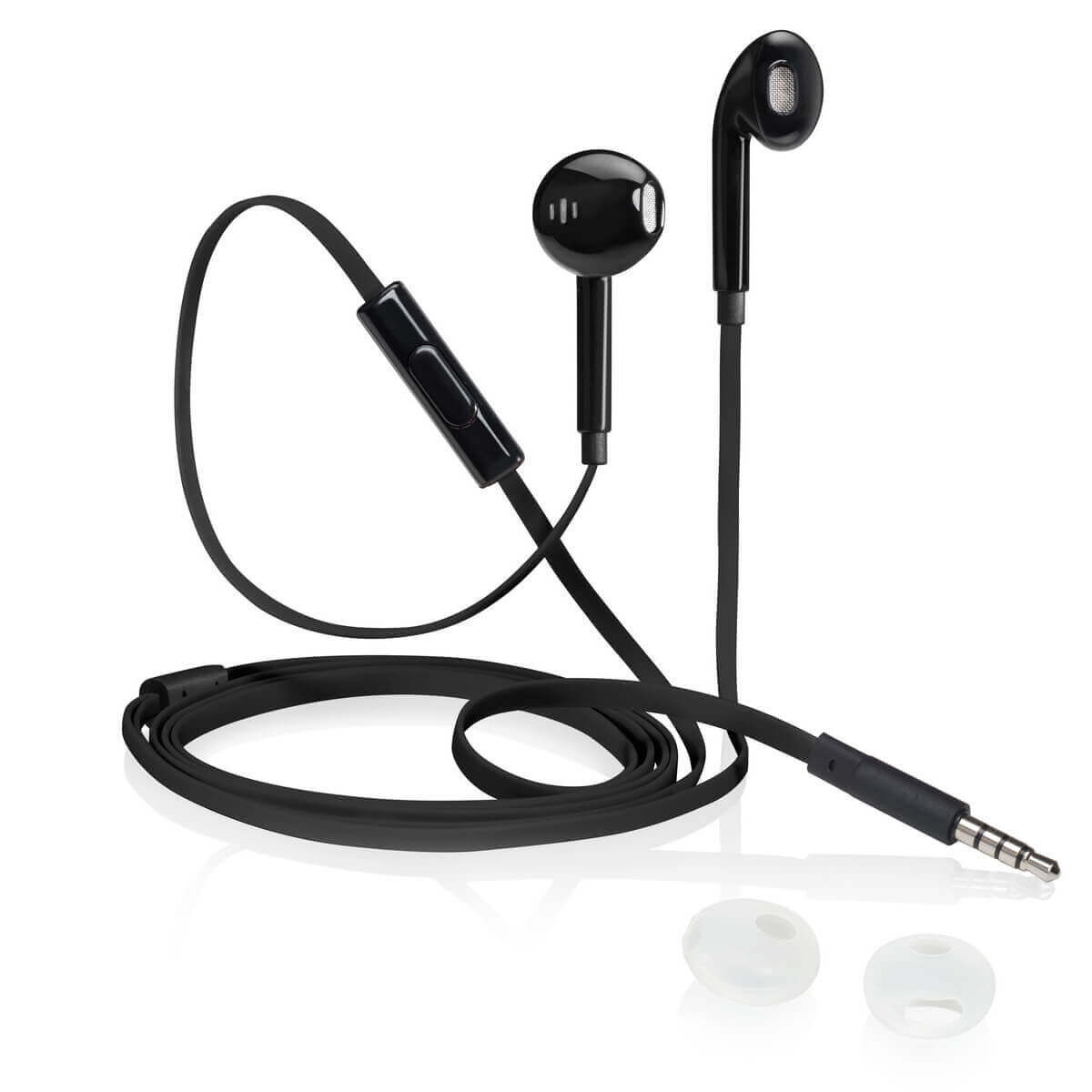 iStore Classic Fit Earbuds (Glossy Black)