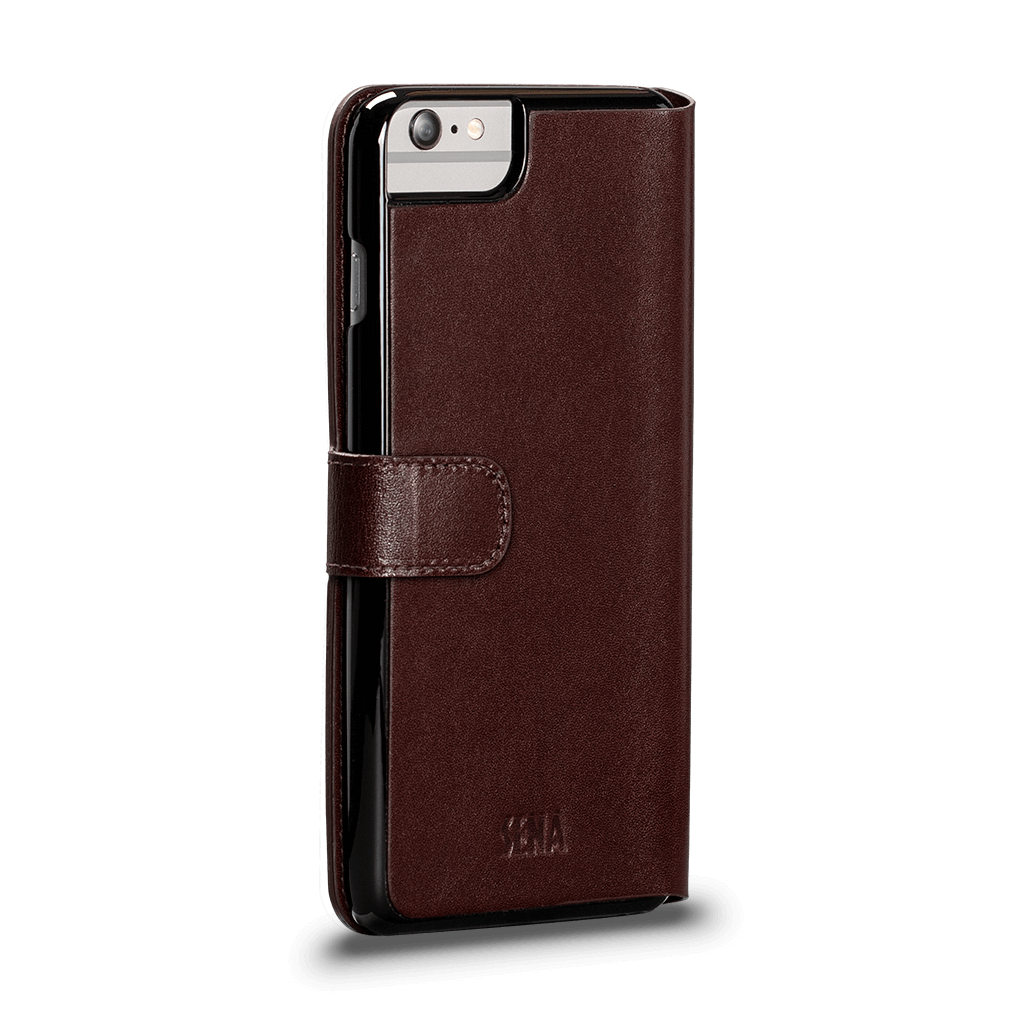 Antorini Leather Case for iPhone 6s Plus, 6 Plus (Brown)