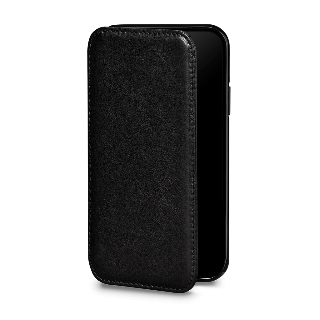 Wallet Book Case for iPhone 11 Pro (Black)