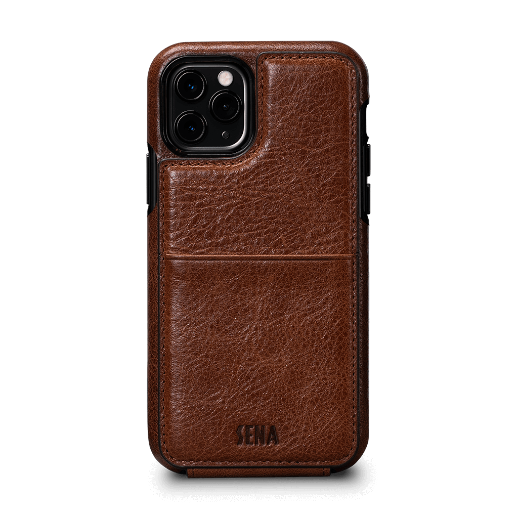 Walletskin Case for iPhone 11 Pro (Cognac)