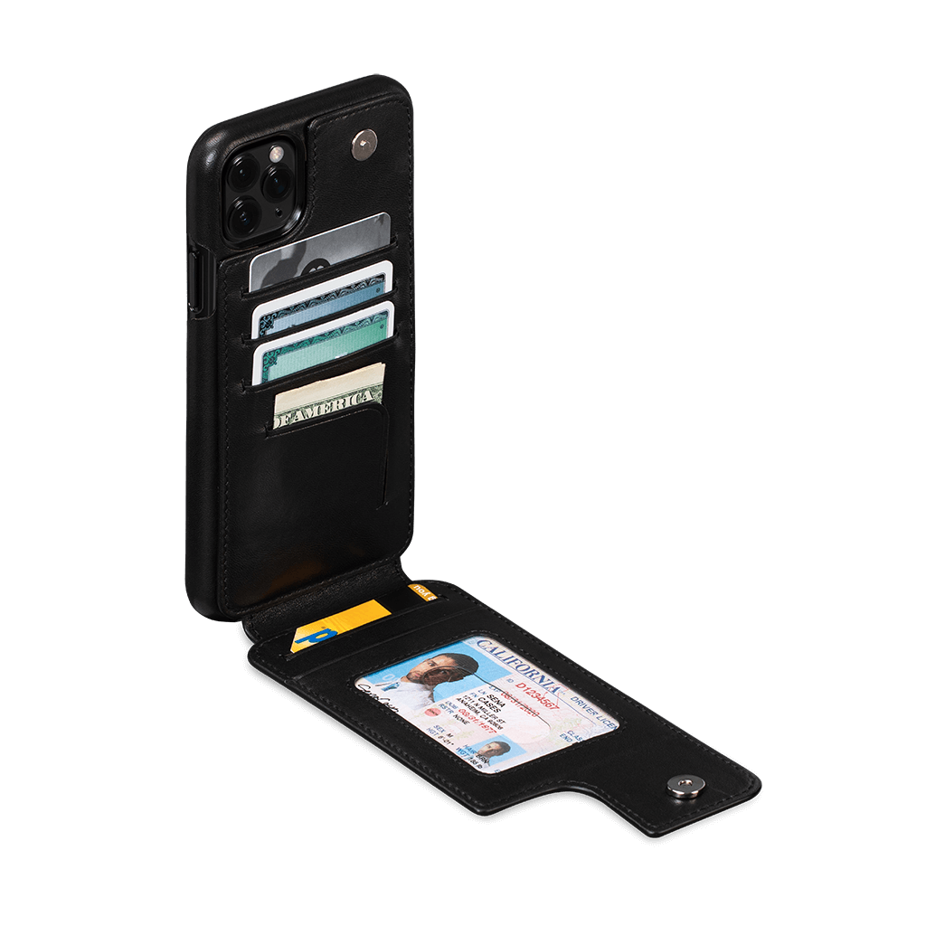Walletskin Case for iPhone 11 Pro Max (Black)