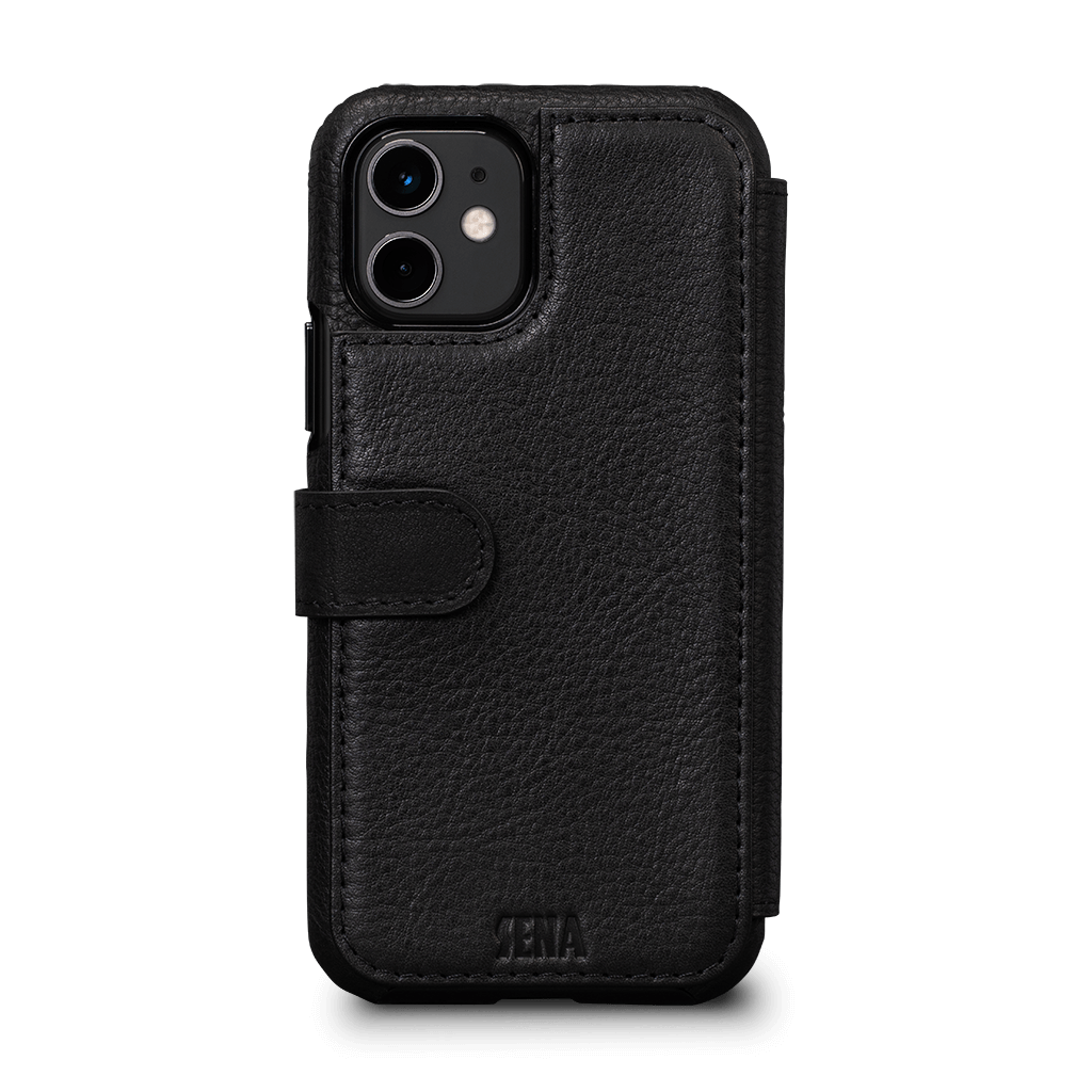 Wallet Book Classic Case for iPhone 11 (Black)