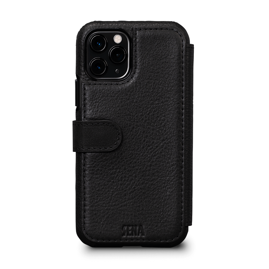 Wallet Book Classic iPhone 11 Pro Max Case (Black)
